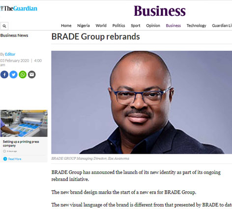 BRADE Group Rebrands